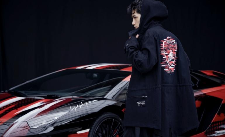 Yohji Yamamoto corre con Automobili Lamborghini