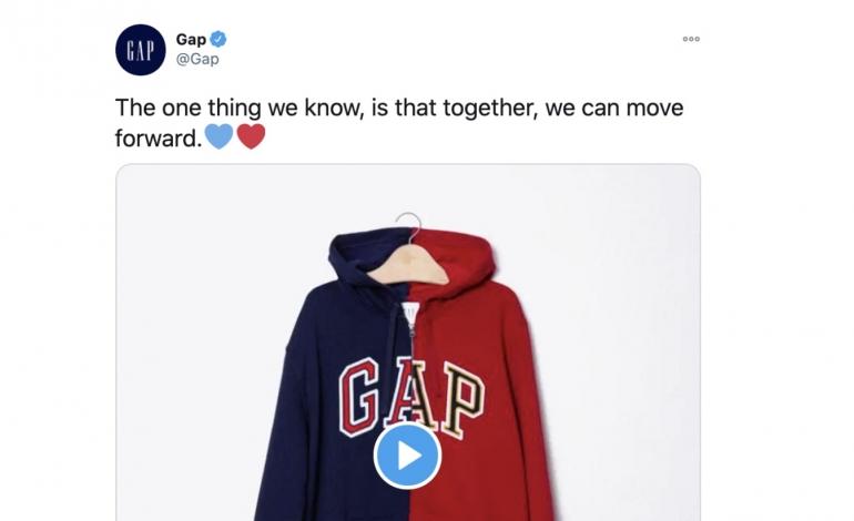 Gap perde con un tweet le elezioni americane