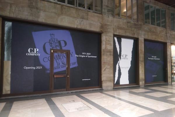 Cp Company, nuovo store a Milano