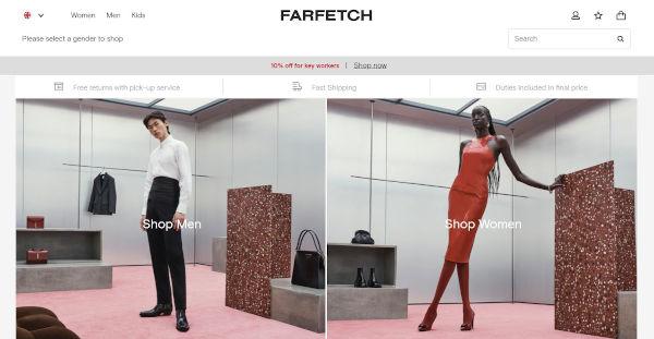 Farfetch accelera ancora. Vendite a +71% nel Q3