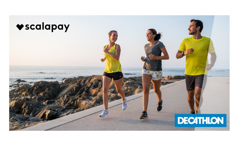 Scalapay, accordo con Decathlon per pagamenti rateali online
