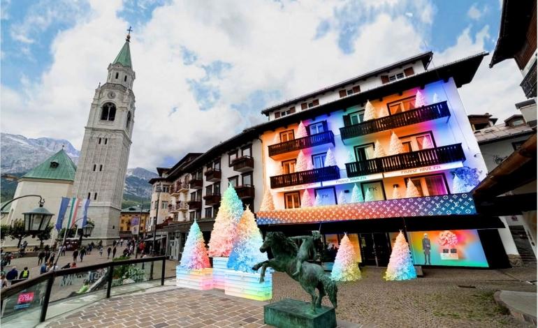 Louis Vuitton aprirà a Cortina d'Ampezzo