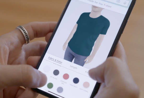 Amazon Fashion lancia il 'su misura'