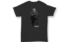Bernie Sanders vende online le t-shirt col suo meme