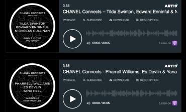 Chanel lancia una nuova serie di podcast sulla cultura