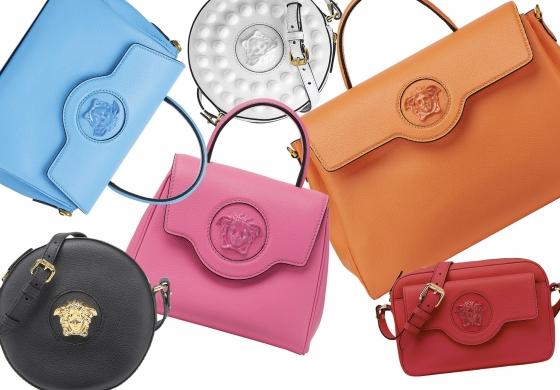 Versace svela la nuova linea di borse La Medusa