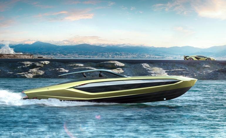 The Italian Sea Group, spazi per Tecnomar for Lamborghini 63