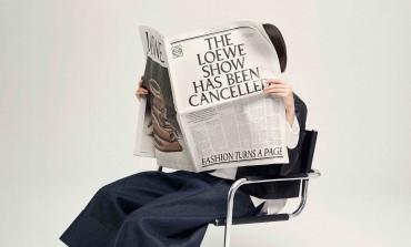 Loewe torna al classico: la collezione va sui giornali