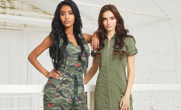 L'esotismo ispira l'estate tropicale di Met Jeans