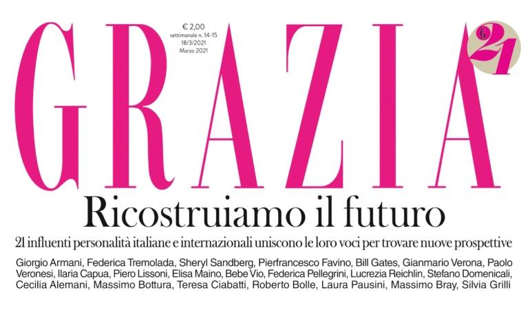 Grazia presenta G21, un progetto dedicato al futuro