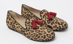 Charles Philip reinventa le slipper animalier