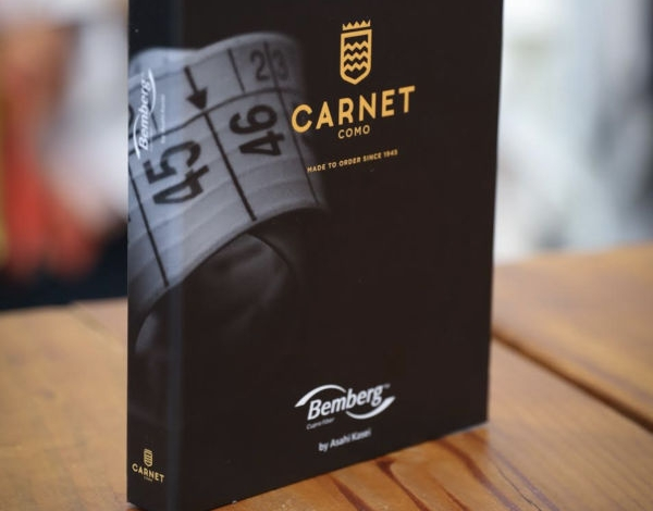 Carnet by Ratti Group si allea con Bemberg
