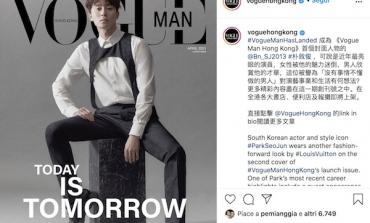 Vogue Man debutta a Hong Kong