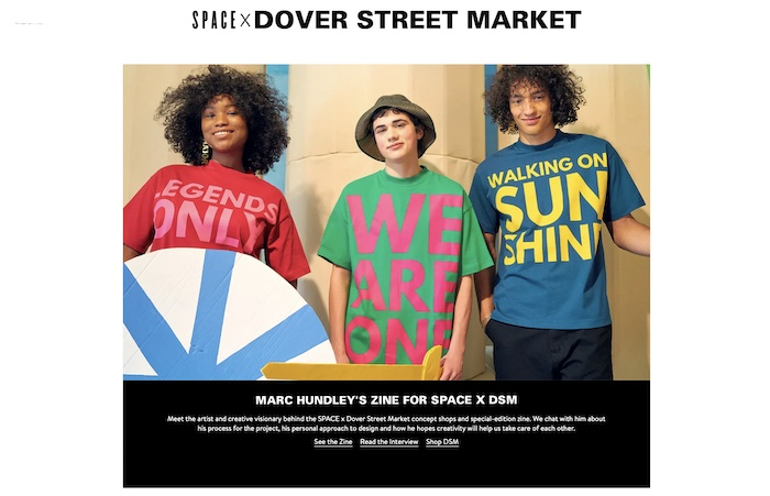 Nordstrom e Dover Street Market si alleano