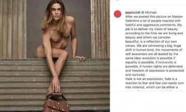 Valentino, polemiche per la campagna inclusiva