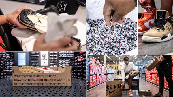 Anche Nike cede al second hand