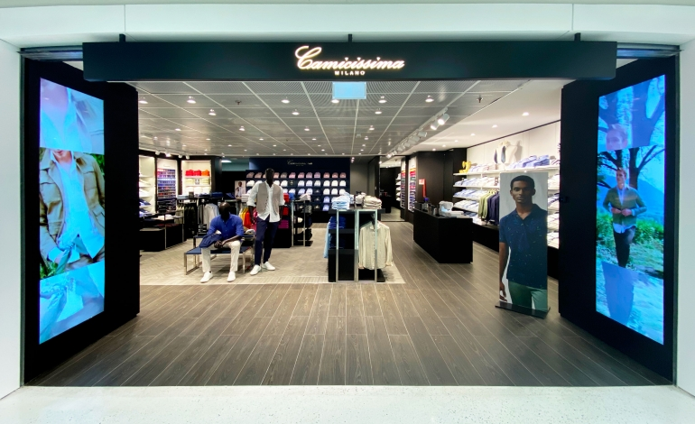 Camicissima presenta il nuovo concept store a Linate