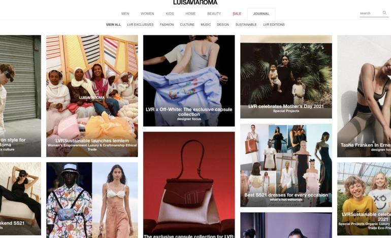 LuisaViaRoma, magazine digitale per spinta in Usa