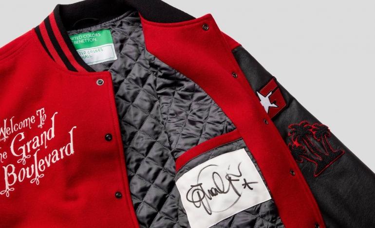 Il deal tra Benetton e Ghali inizia con la G varsity jacket