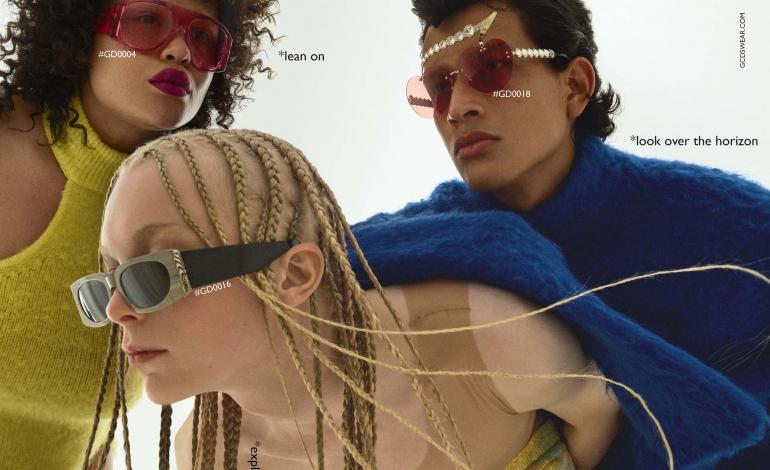 Gcds debutta nell'eyewear tra rock ed eleganza