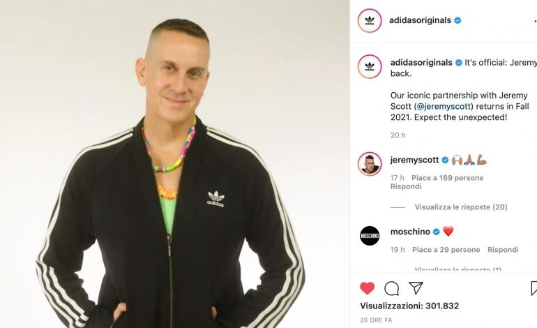 Riparte il sodalizio tra Jeremy Scott e Adidas Originals
