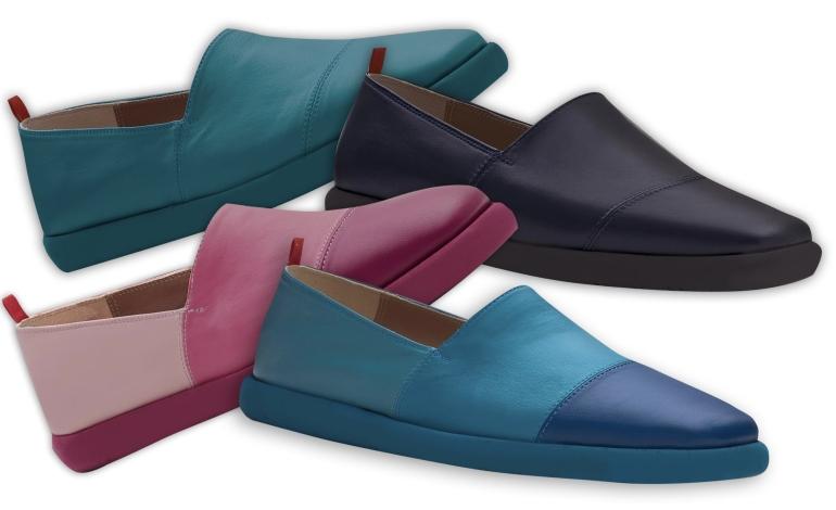 Amarossa presenta la scarpa compostabile e riciclabile
